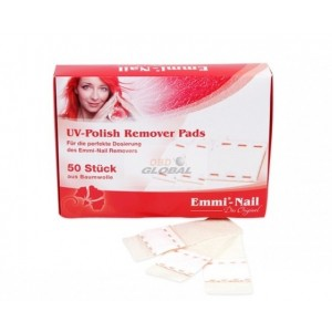 Emmi-nail Easy UV polish remover pads 50 pcs